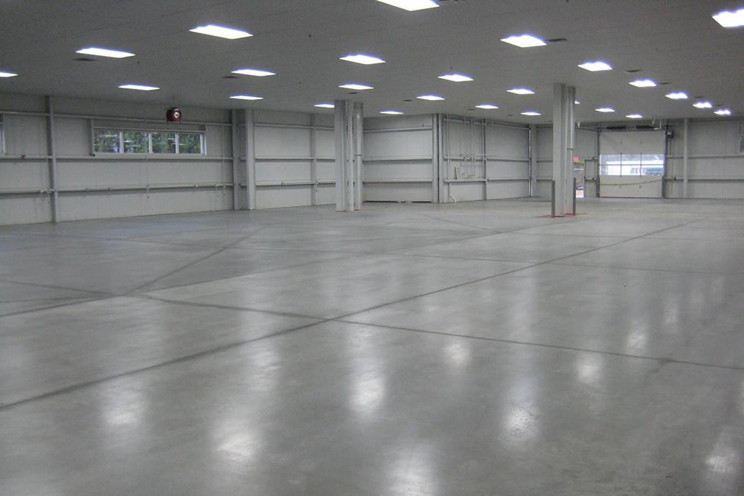 concrete flooring polish